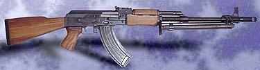 Yugoslavian RPK 7.62x39