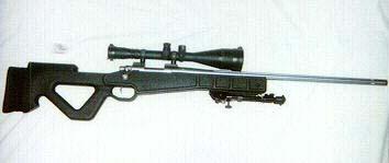 Remington 700 VSSF, UARS stock, Redfield Ultimate Illuminator 4X12 by 56mm, 7.62 NATO
