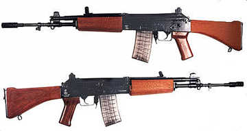 INSAS Indian Version of AK-74
