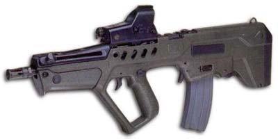 IMI Tavor Assault Rifle T.A.R. Commando Nato 5.56