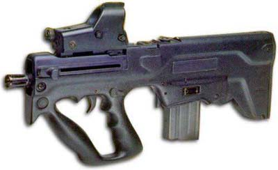 IMI Tavor Assault Rifle - Micro T.A.R. Nato 5.56