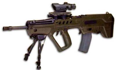 IMI Tavor Assault Rifle - T.A.R. Sniper Nato 5.56