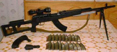 SKS Russian w/Dragonov Stock