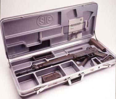SIG 550 Boxed