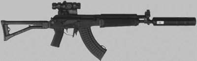 SAKO M92 suppressed