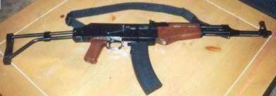 AK-22 AK-47/22 Sidefolder