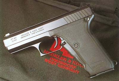 HK P7M7 .45acp variant of P7 series. (1 of 6 existing)