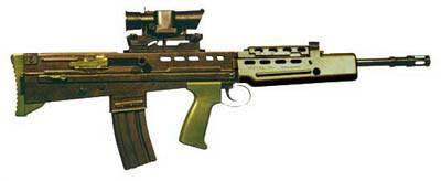 SA80 British Assault Rifle