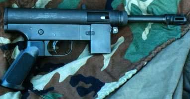 ROF Submachine gun 9mm 1200 rpm