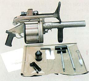 MGL-MK1 Multishot Grenade Launcher
