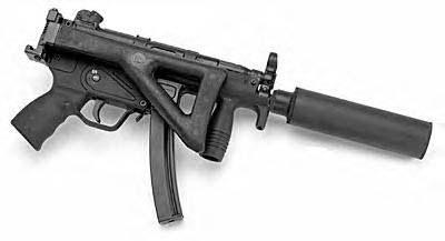 HK MP5 PDW w/Gemtech MK-9K Suppressor