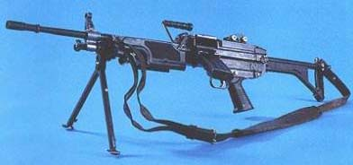 KSP90 Swedish version of FN Minimi
