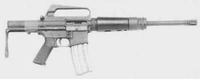 M231 5.56mm Submachinegun Port Firing Weapon