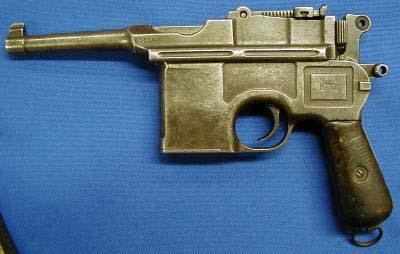 Mauser Late Bolo 7.63 cal. 10 round magazine