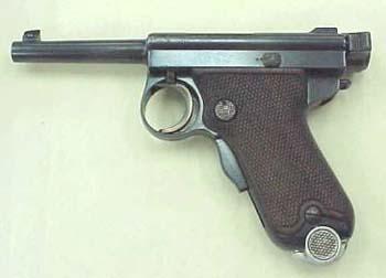 Baby Nambu Pistol 1909-1911 8mm