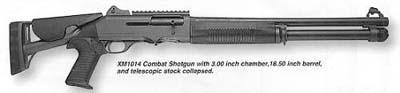 HK Benelli Joint Service Combat Shotgun