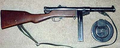 Suomi M-31 9mm Smg