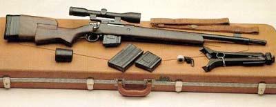 FN M30-11 sniper rifle