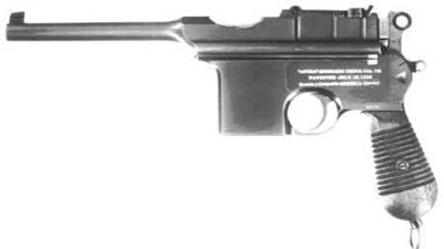ASTRA 900: Spanish Mauser C96