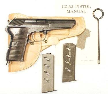 Cz-52: 7,62x25mm