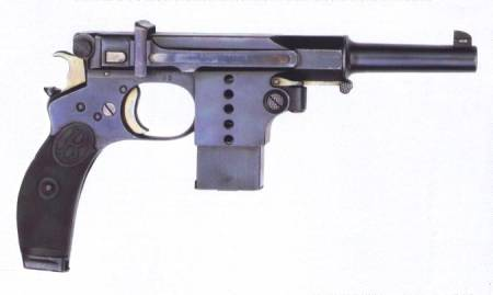 Bergman Number 5 pistol (Germany)