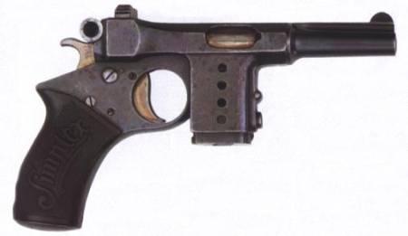 Bergman Simplex pistol (Germany)