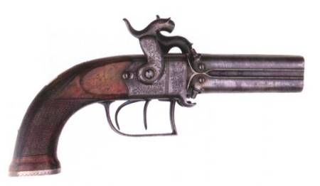 Blanch four-barreled pistol (British)