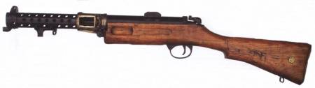 Lanchester Mark 1 SMG (British)