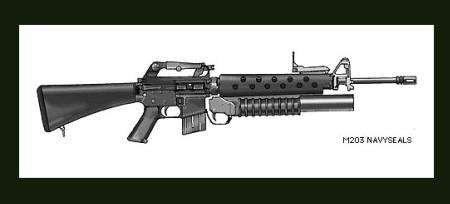 Colt M16A2 + M203