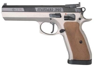 CZ-75 IPSC pistol