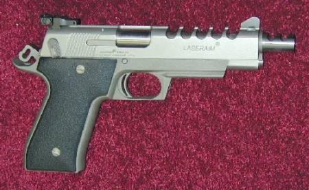 LaserAim Model 4 with custom Millet Sights