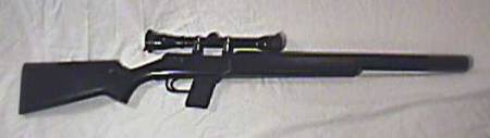 AWC Centurian - One of ten transferable. Bolt Action with integral suppressed barrel
