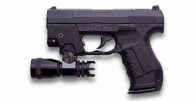 Walther P99 with Light