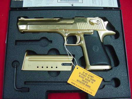 Desert Eagle - Gold