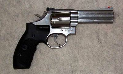S&W Model 686 with laser grip