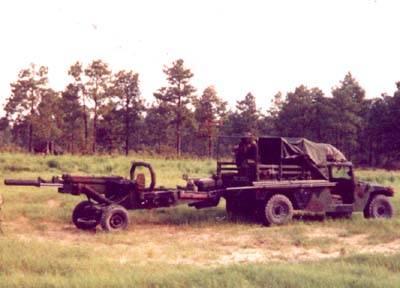 M102 105mm Howitzer