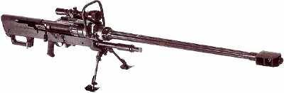 Mechem NTW 20mm Anti Material Rifle