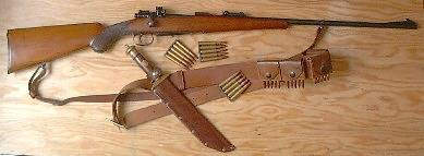 Oberndorf Mauser - Type B - Pattern 80 - 9x57 cal.