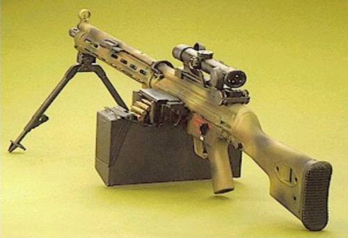 HK23E MG with removable 4X scope