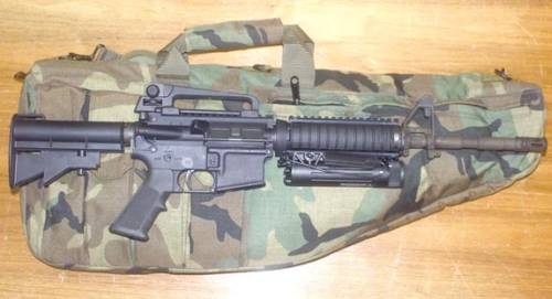 Colt M4 USMC has adopted to replace the MP5