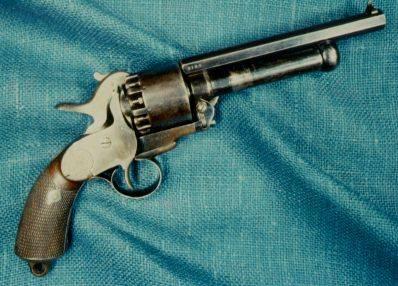 LeMat Percussian Revolver