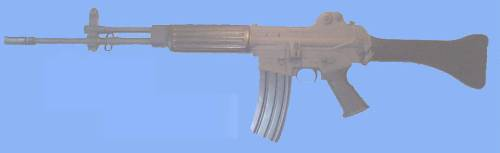 DAEWOO K2A2 ASSAULT RIFLE (.5'56x45mm NATO)