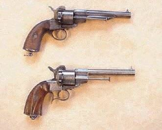 French Navy model 1858 revolver 11mm