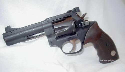 Manhurin MR73 .357 Mag ported prototype.