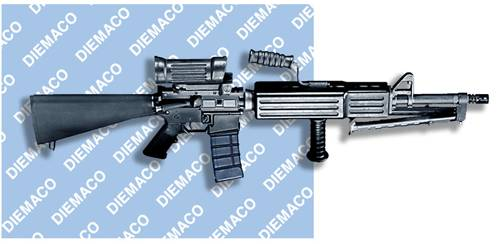 Diemaco C7LSW (Light Support Weapon 5.56mm)