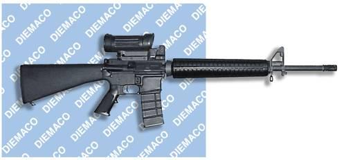 Diemaco C7FT (Flattop Assault Rifle 5.56mm)