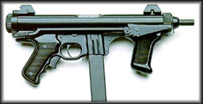 TAURUS M972 9mm SMG.