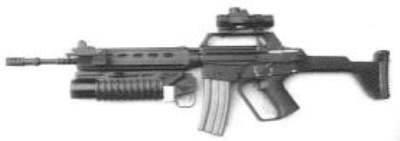 IMBEL Model-L Assault Rifle