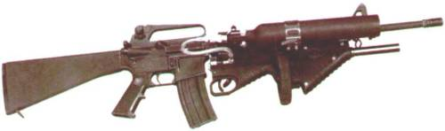 FN XM303 Less Then Lethal Launcher