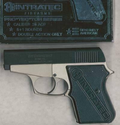 INTRATEC PROTEC-25 (.25-ACP, 8-round magazine